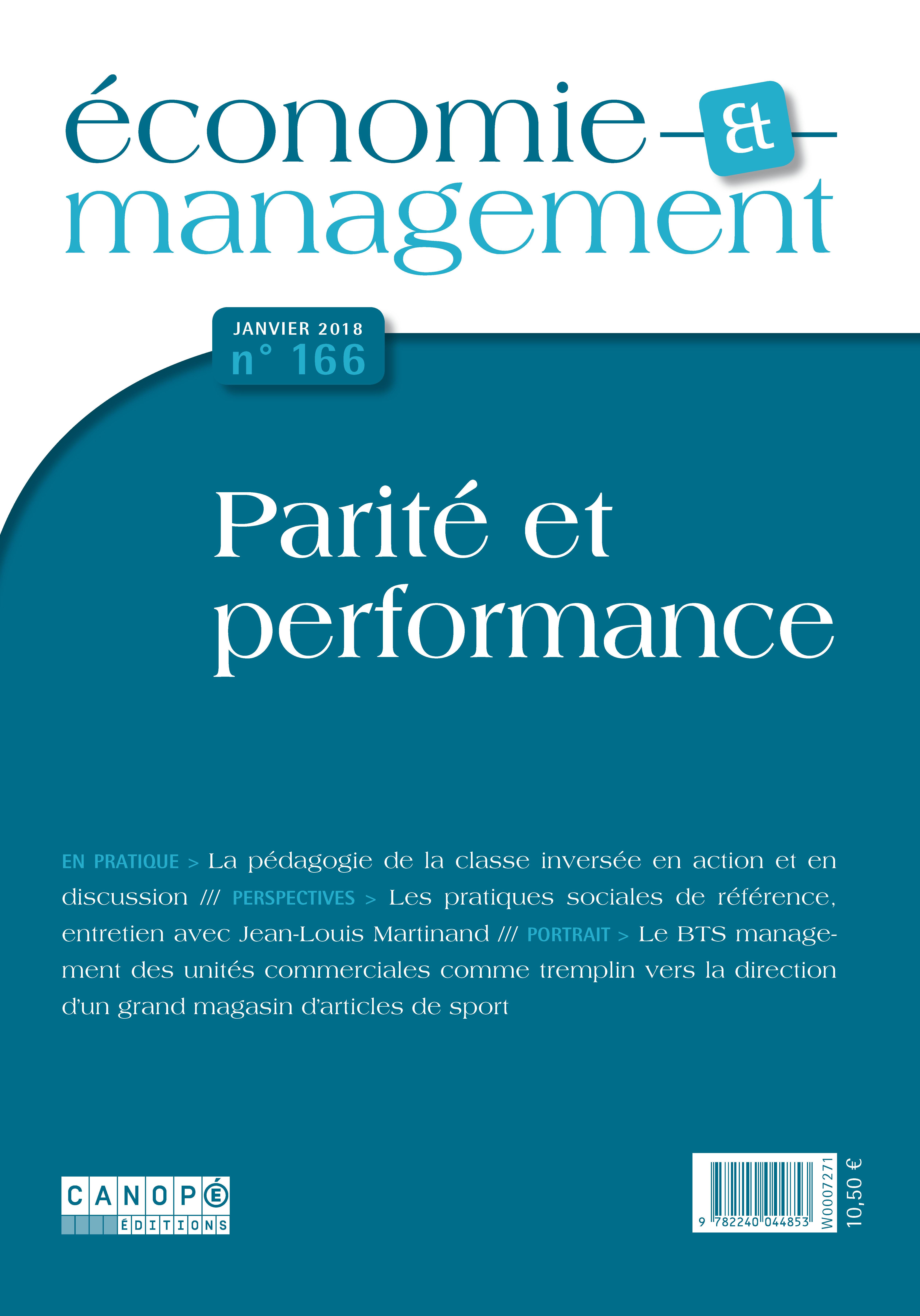 Economie et Management n°166- Présentation du numéro 405116c1354
